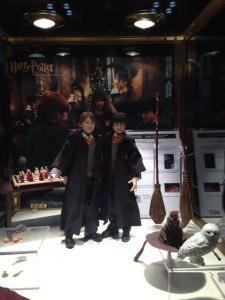 From the Harry Potter Exhibition Booth